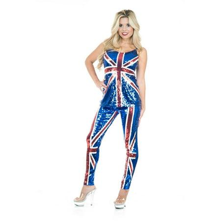 Halloween British Sequin Top & Pants](Halloween Rocker Pants)