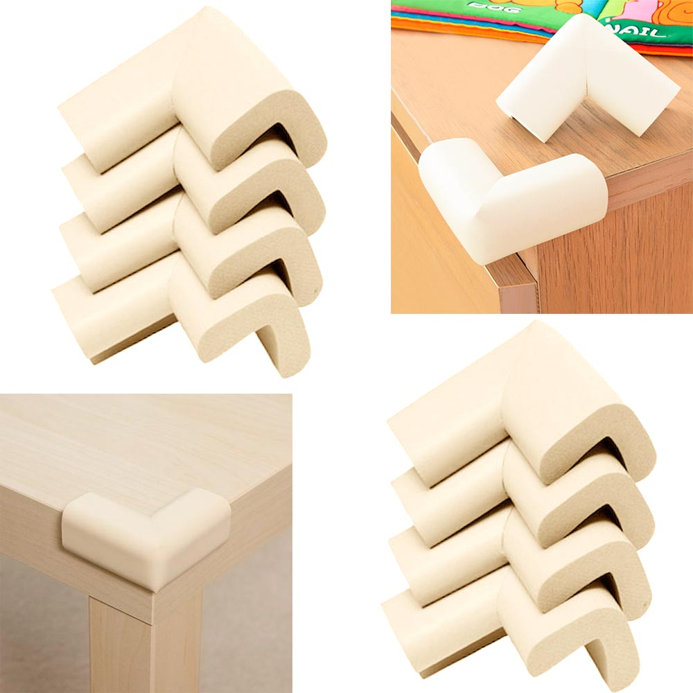 8 Baby Safety Table Desk Edge Corner Cushion Guard Softener Bumper Protector Kid