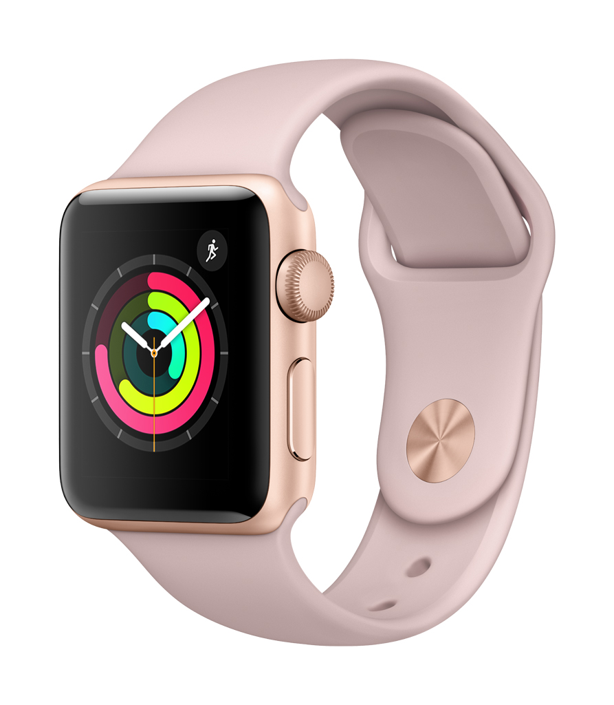 Refurbished Apple Watch Series 3 GPS Sport Band Aluminum Case by Apple
