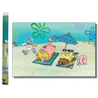 Penn Plax SBBG1 Spongebob Aquatic Background