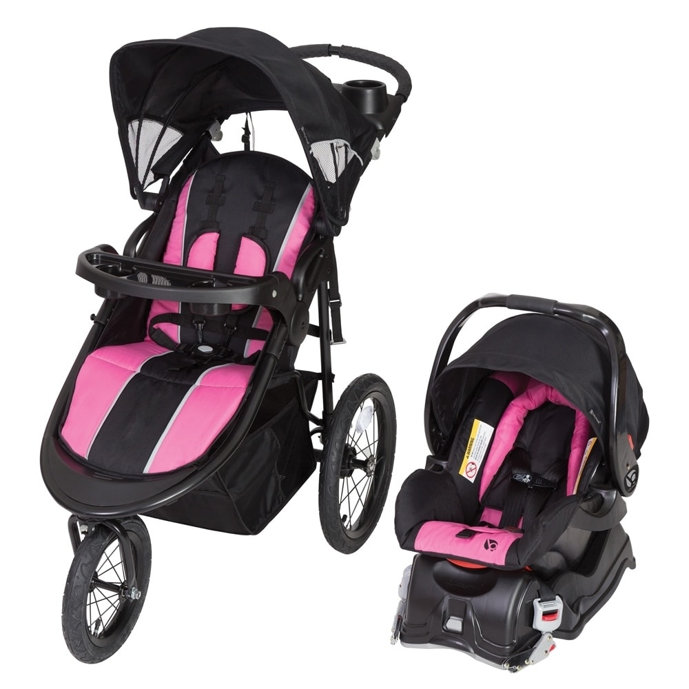 Baby Trend Cityscape Jogger Travel System, Rose by Baby Trend