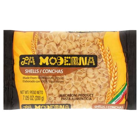 La Moderna Shells Macaroni Pasta  7 05 Oz