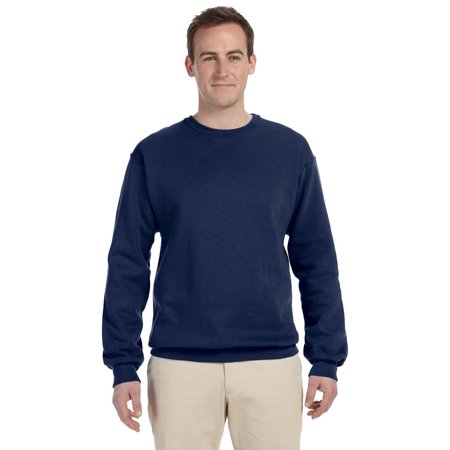 Fleece Crewneck Sweatshirt - 562 - 2X-Large - Navy