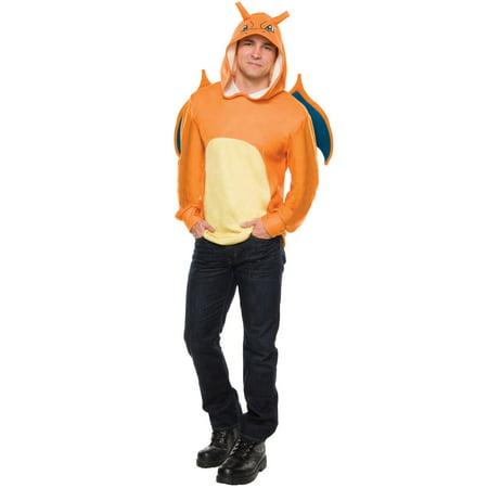 Dinosaur Hoodie Adults (Adult Pokemon Charizard)