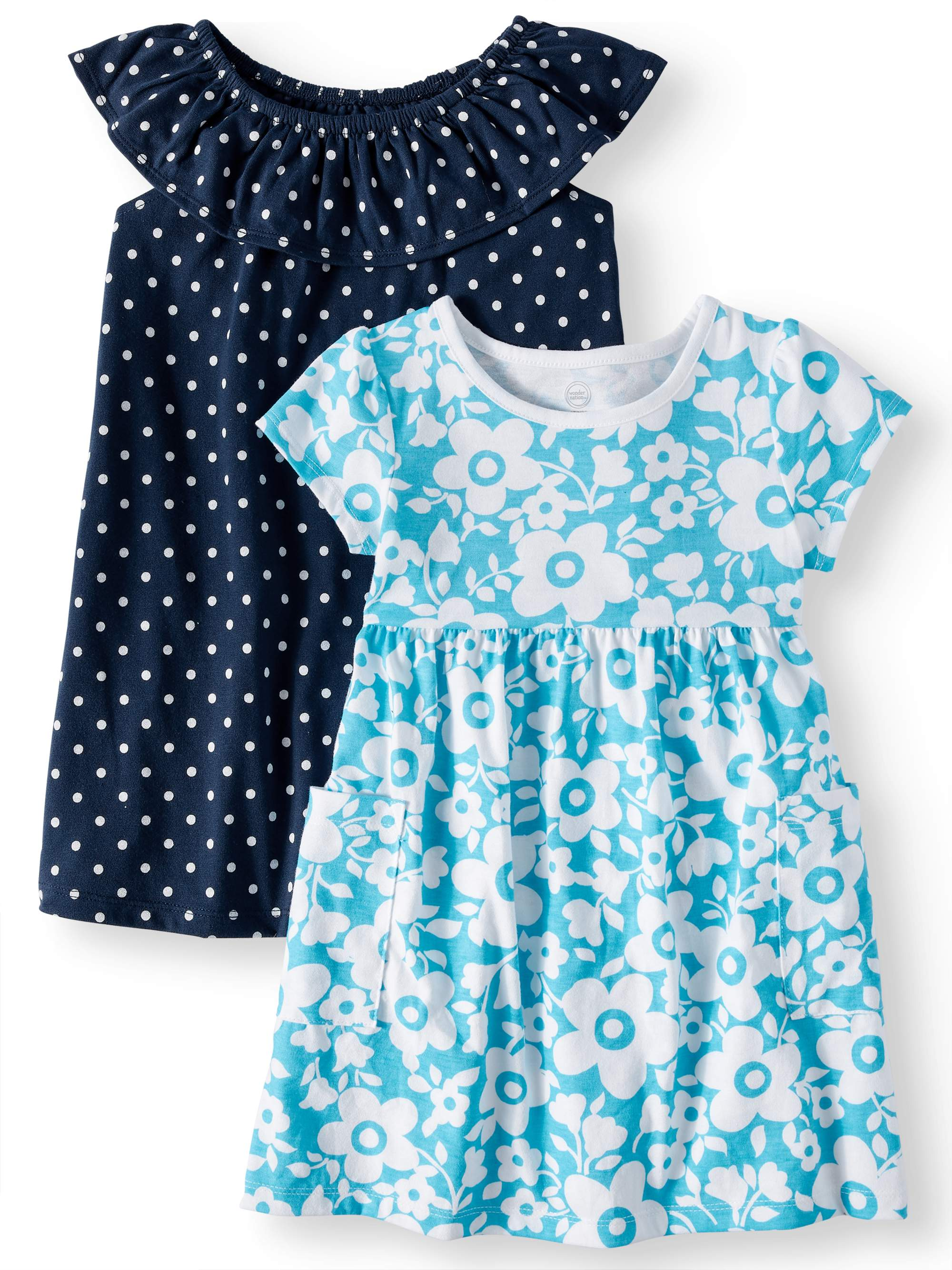 Knit Dresses, 2-pack (Toddler Girls)
