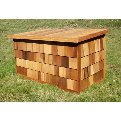 Greenstone Aspen Cedar Deck Box