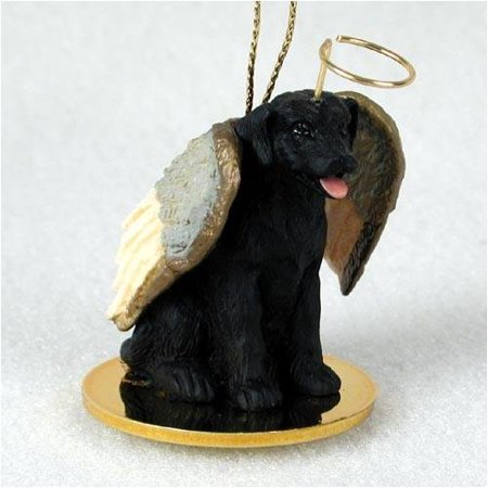 Black Labrador Retriever Figurine - Labrador Retriever, Black Tiny Ones Dog Angels (2 in) by, Each figurine is carefully hand painted for that extra bit of realism. By Conversation Concepts Ship from US