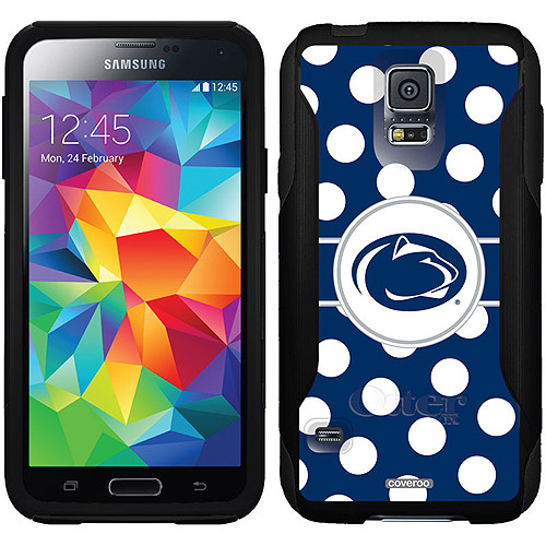 Penn State Polka Dots Design on OtterBox Commuter Series Case for Samsung Galaxy S5