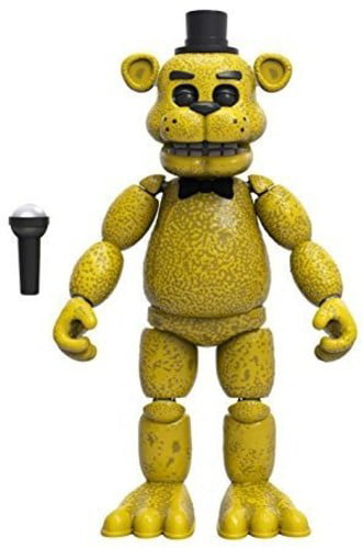 FUNKO ARTICULATED ACTION FIGURE FNAF - GOLD FREDDY