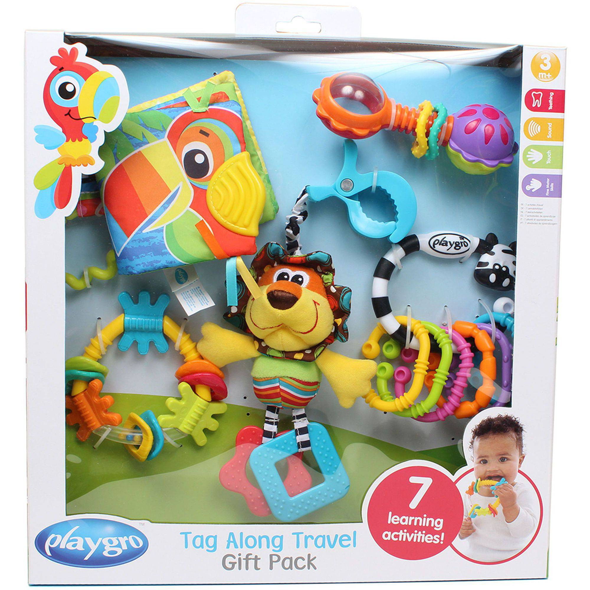 Playgro Tag Along 11-Piece Travel Pack