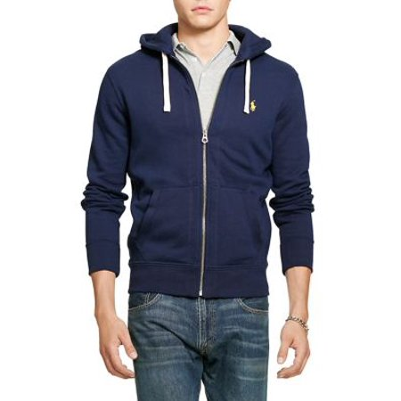 Ralph Men's Lauren Polo Hoodie Full Fleece Classic Msrp98 Zip xoCedB
