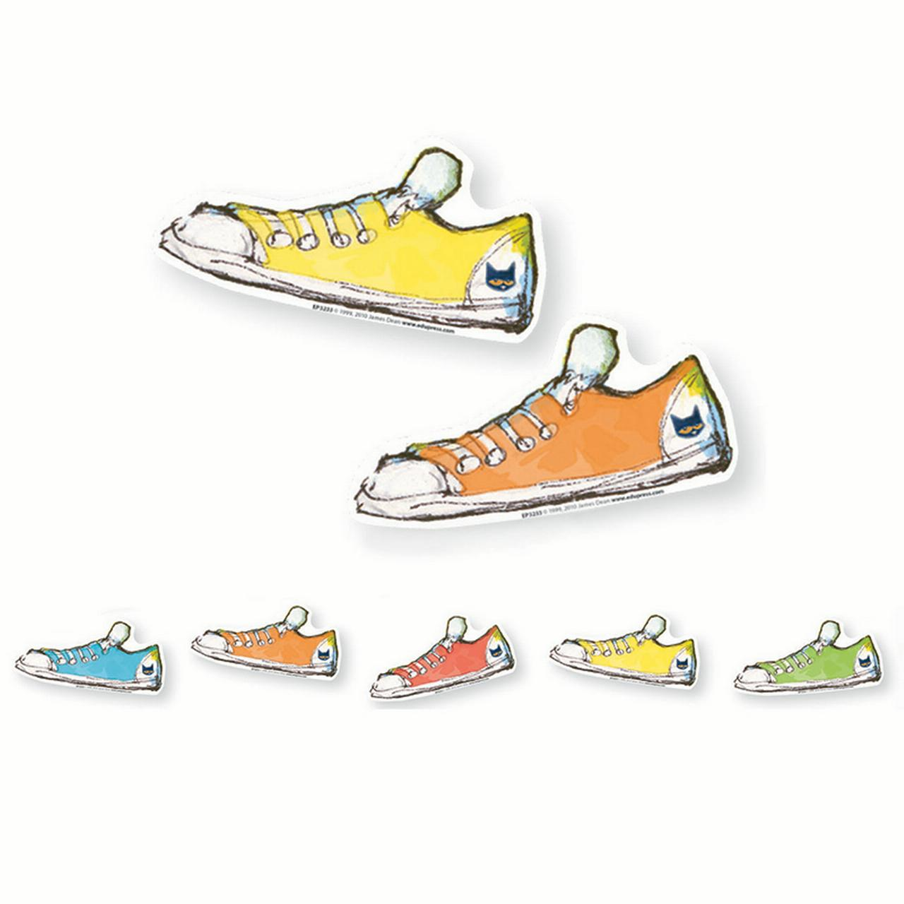 PETE THE CAT GROOVY SHOES ACCENTS PACK OF 36