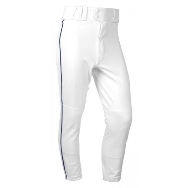 Rawlings YBP350 Youth Baseball Pants Traditional Fit (Youth Medium, White/ Royal Piping )