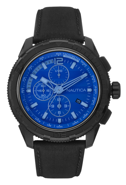 NAUTICA MEN'S WATCH NST 101 48MM by Nautica
