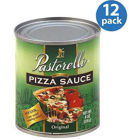 Pastorelli All Natural Original Pizza Sauce  8 Oz   Pack Of 12