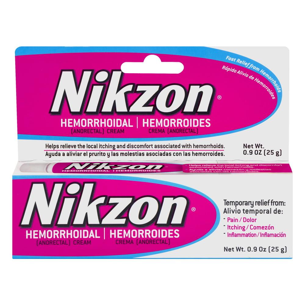 Nikzon Hemorrhoidal Cream, 0.9 oz
