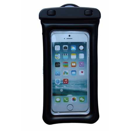 ZForce Easy-Open Waterproof Tight Floater Cell Phone Case For Smartphones iPhone, Samsung, HTC, Sony, Nokia, Blackberry, and iPod (Black)
