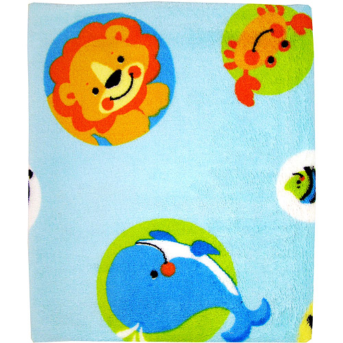Fisher Price - Precious Planet Coral Fleece Blanket