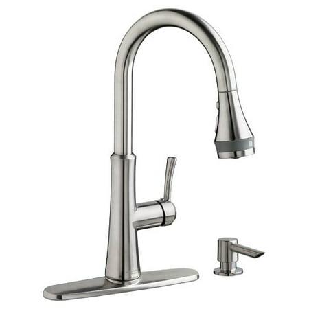 american standard huntley single handle pull down standard kitchen faucet with selectflo. Interior Design Ideas. Home Design Ideas