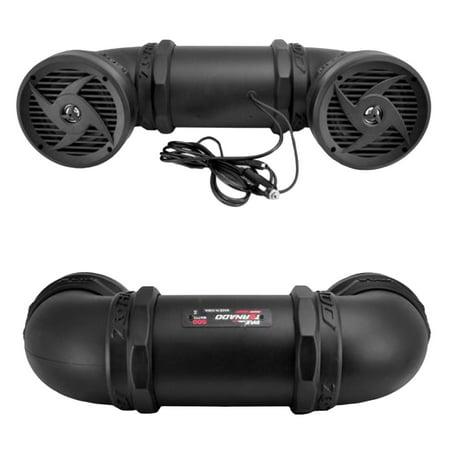 500 Watts ATVUTVJet SkiSnowmobile Powered Sound System w 65
