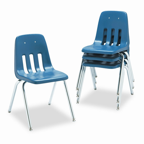 Virco 9000 Series Plastic Classroom Chair (Set of 4)