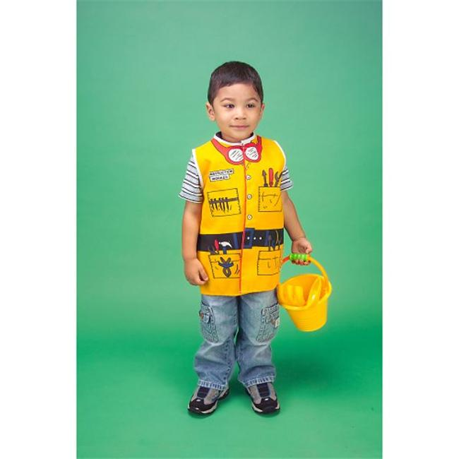 Dexter Educational Toys DEX1202 Toddlers Dress-Up Outfit Construction Worker by Dexter Educational Toys Inc.
