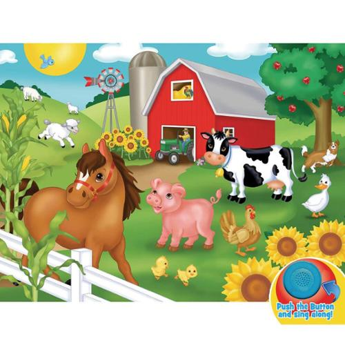 Masterpieces Puzzle Co Old McDonald Jigsaw Puzzle