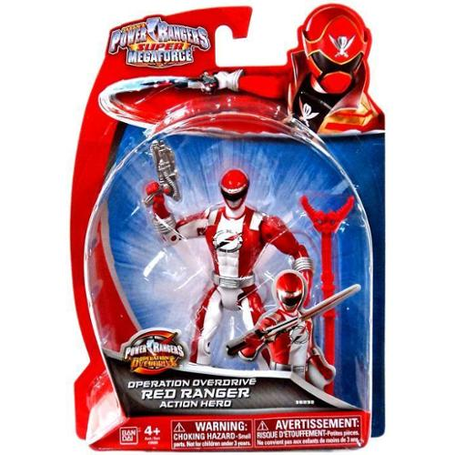 Power Rangers Super Megaforce - 5 in. Operation Overdrive Action Hero