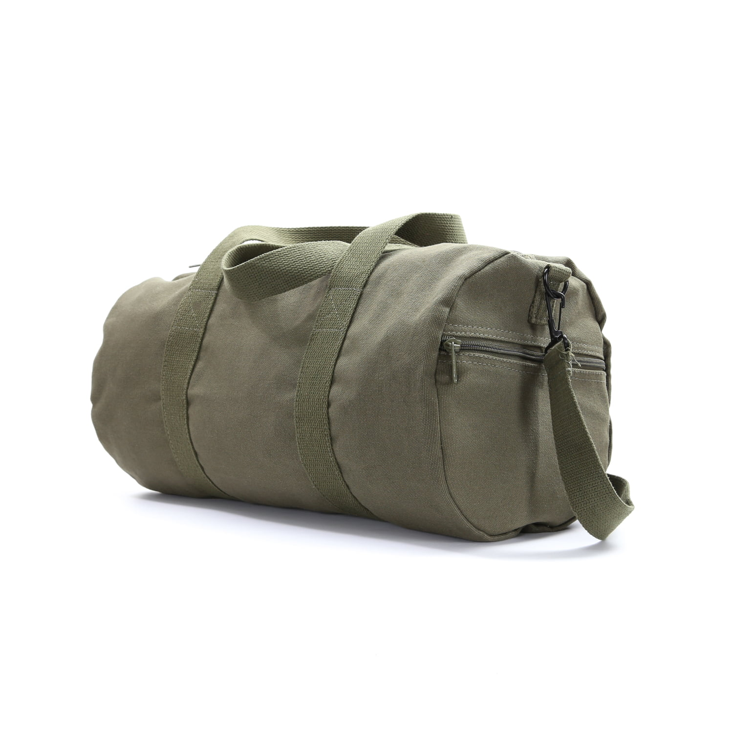 d29f1bb547 Army Force Gear WWII Military Jeep Invasion Star Duffel Tote Gym Bag World  War 2 - Walmart.com