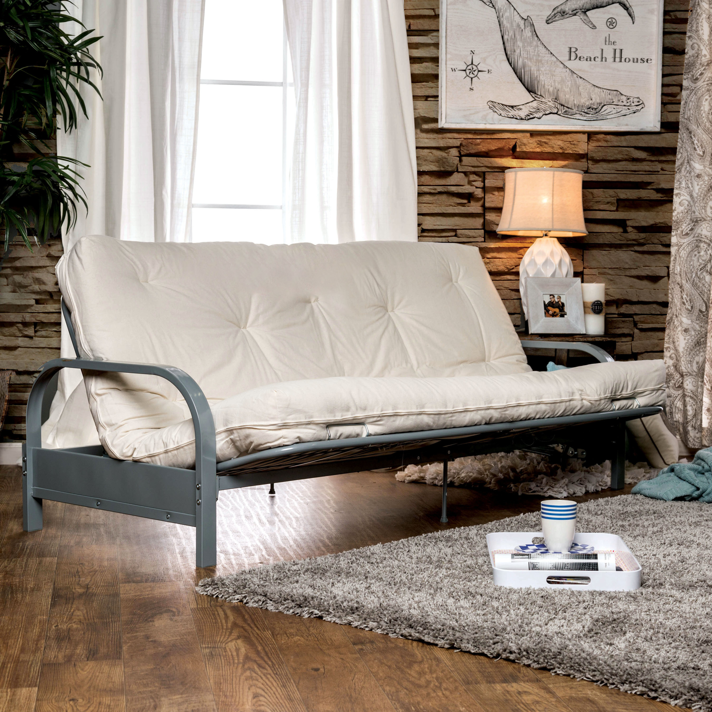 Furniture of America  Amaya Contemporary Tufted 8-inch Futon Mattress
