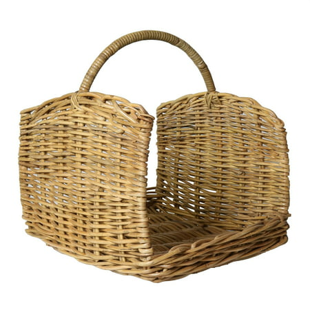Areo Home Areo Home Clemente Rattan Log Basket - Set of 2