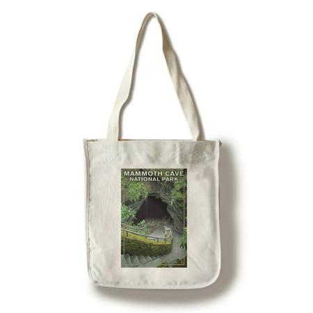 Mammoth Cave, Kentucky - Entrance - Lantern Press Artwork (100% Cotton Tote Bag -