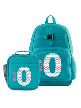 c481c6388db6 Product Image Personalized Pretty Pattern Backpack + Lunchbox Combo