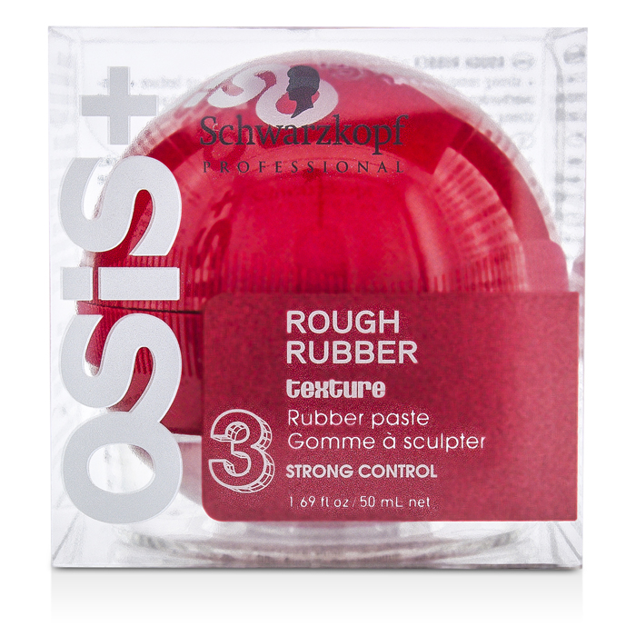 Schwarzkopf - Osis Rough Rubber Texture Rubber Paste (Strong Control) - 50ml/1.69oz