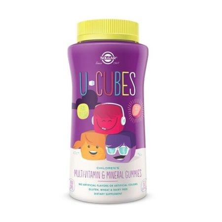 Solgar U-Cubes Children s Multi-Vitamin   Mineral Gummies, 60 Ct -  Walmart.com 6b571eb38186