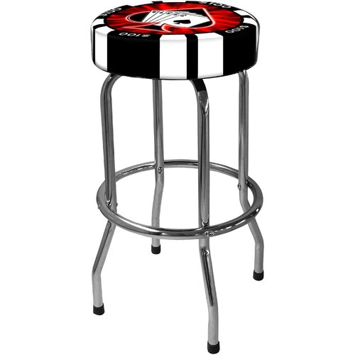 On The Edge Marketing Poker Chip 30.5'' Bar Stool by On The Edge Marketing