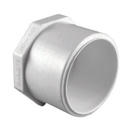Charlotte Pipe Plug Sch 40 Pvc 1-1/4