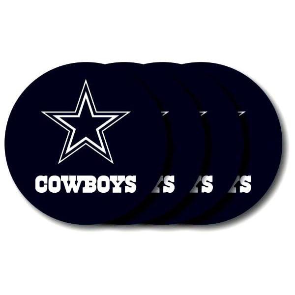 Dallas Cowboys Coaster 4 Pack Set