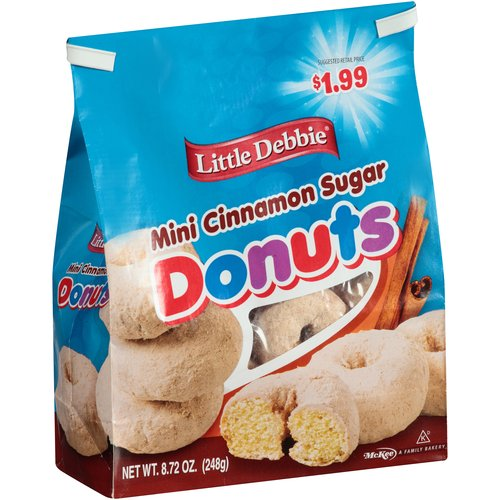 Little Debbie(r) Mini Cinnamon Sugar Donuts, 8.72 oz