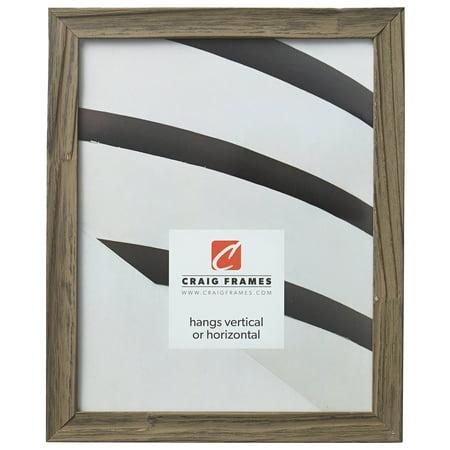 Craig Frames Hausbarn, Wolf Grey Barnwood Picture Frame, 8 x 10 Inch ...