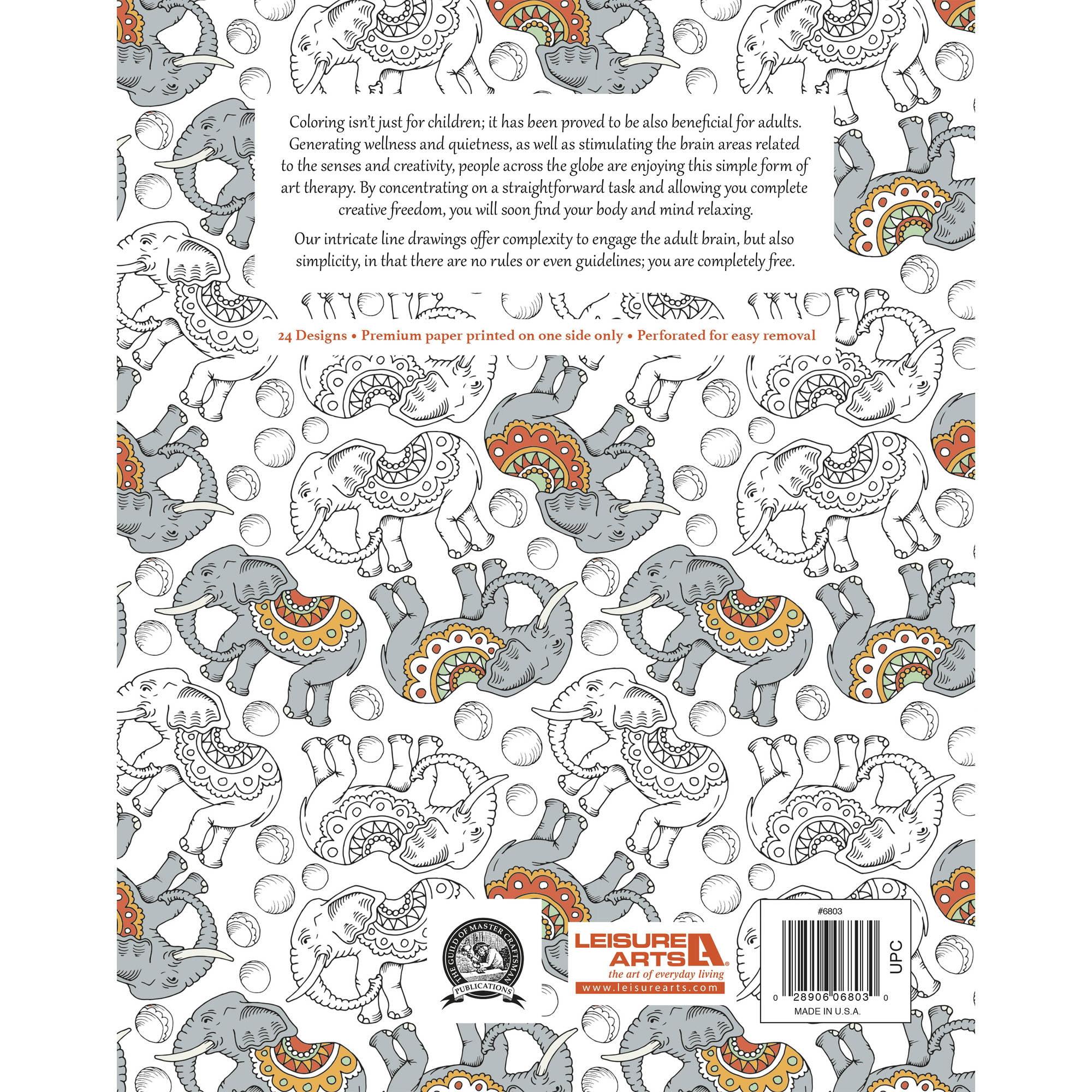 Color art living wonders - Animal Wonders Color Art For Everyone Adult Coloring Book Walmart Com