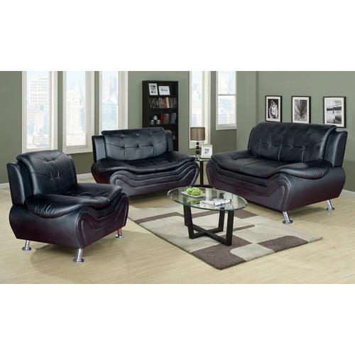 PDAE Inc. Ethel 3 Piece Living Room Set
