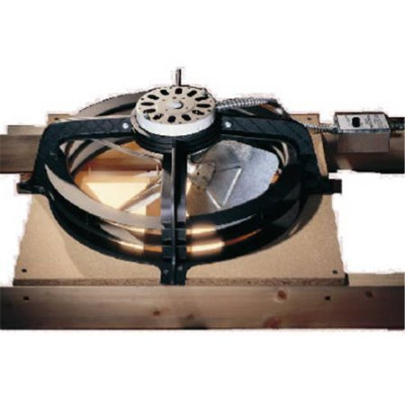 Air Vent 53316 Gable-Mount Power Attic Ventilator, 2300 Sq. Ft. - Quantity 1