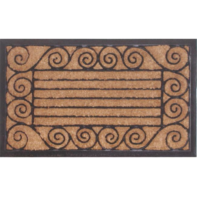 Imports Decor 706RBCM Rubber Back Coir Doormat  Ameeba