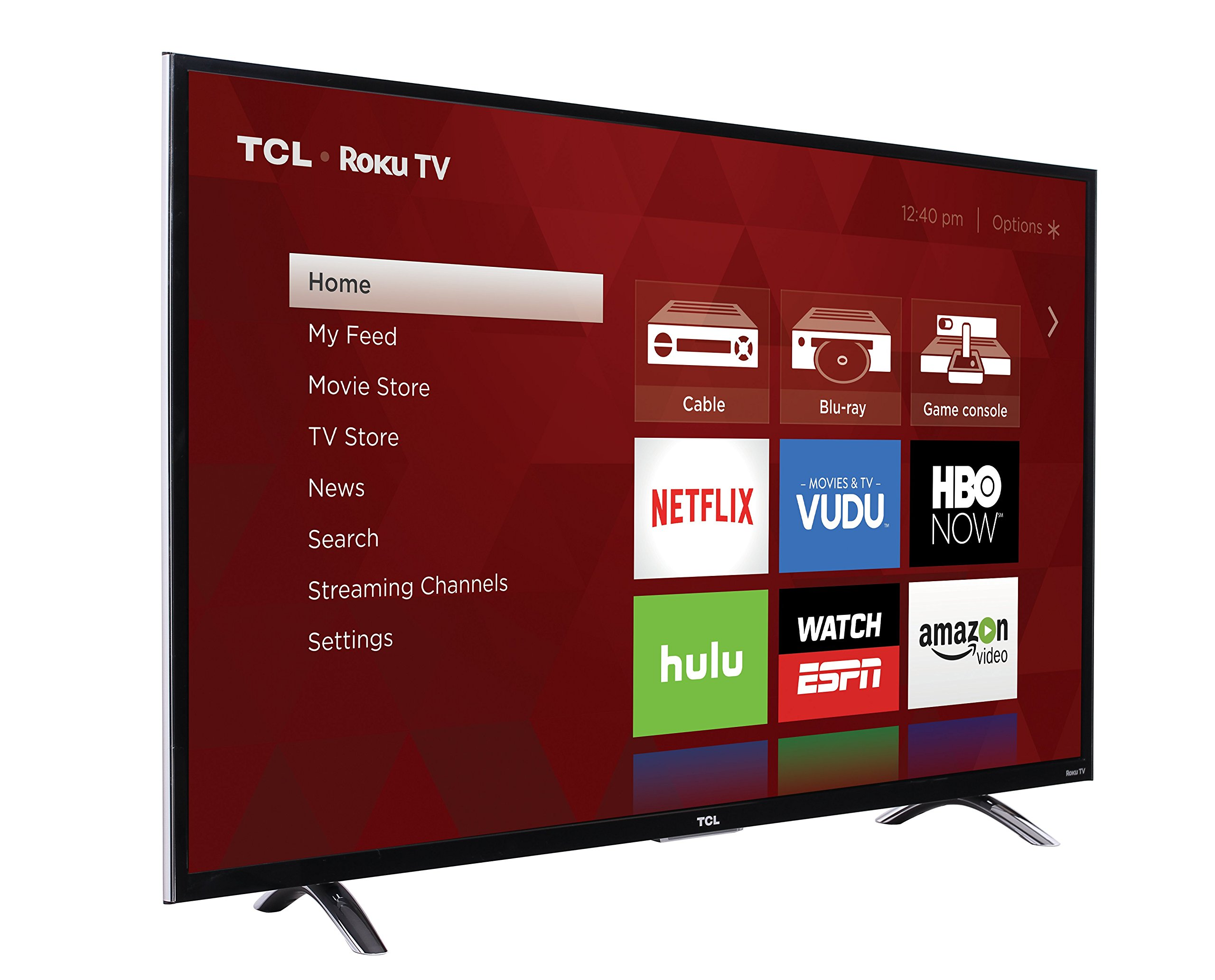 TCL 55UP130 55-Inch 4K Ultra HD Roku Smart LED TV - Walmart.com ee97e9cc60