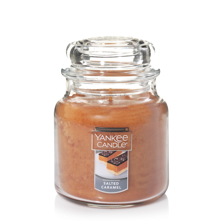 Yankee Candle Medium Jar Candle, Salted Caramel