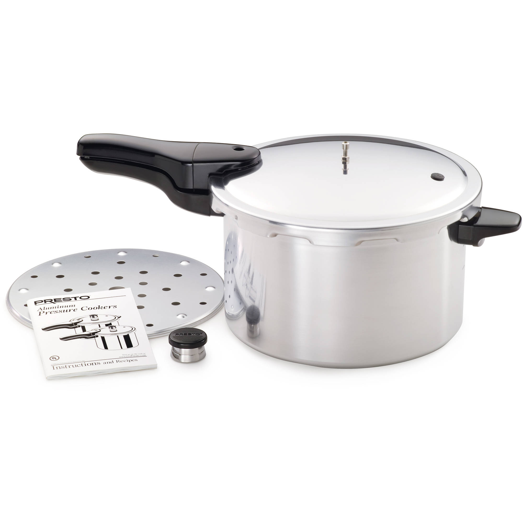Presto 8 Quart Aluminum Pressure Cooker 01282 Walmart