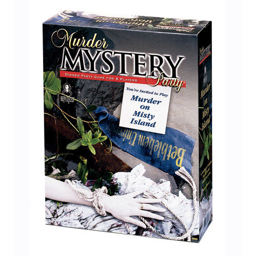 BePuzzled Murder on Misty Island Murder Mystery Party Game