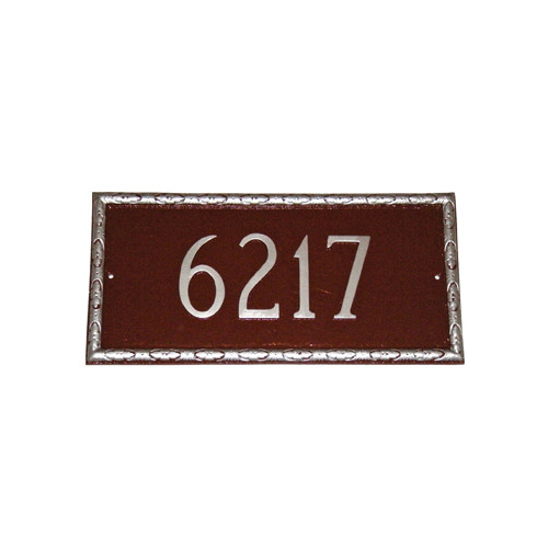 Montague Metal Products Inc. Jefferson Rectangle Address Plaque