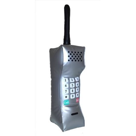 90's Teenage Business Mobile Telephone Costume Cell Phone